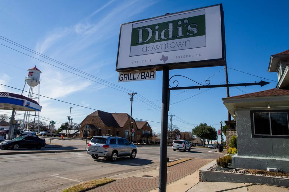 Didi's Downtown is located on Main Street in Frisco, in a rapidly evolving area.