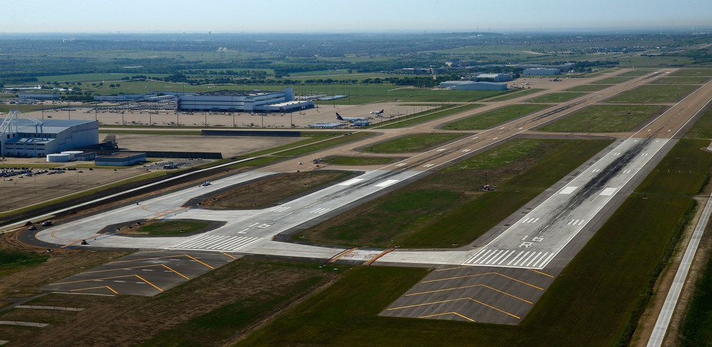 The extension of the main runway at Fort Worth's Alliance Airport brings it to 11,000 feet. The airport's other runway was extended to that length in 2017.