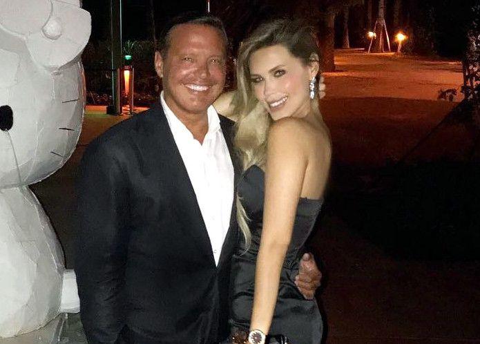 En su cuenta de Instagram, Desiree Ortiz Salswach (der.) publicó una foto en la que se ve abrazada y feliz con Luis Miguel (izq.), a quien le dedicó un mensaje de apoyo./ AGENCIA REFORMA
