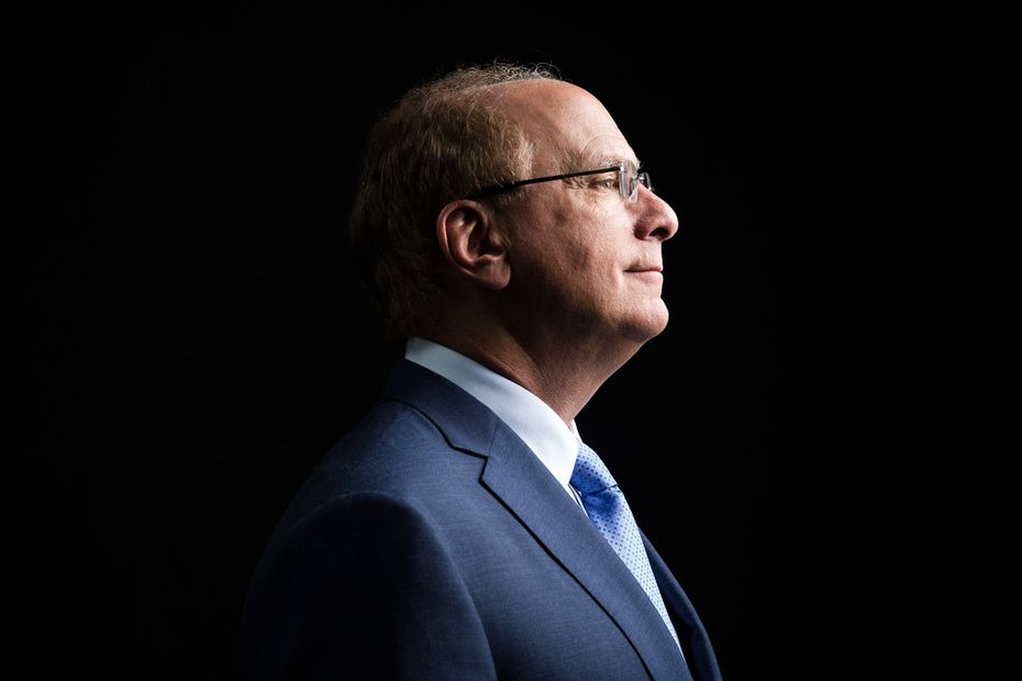Larry Fink, founder and chief executive of the giant investment firm BlackRock