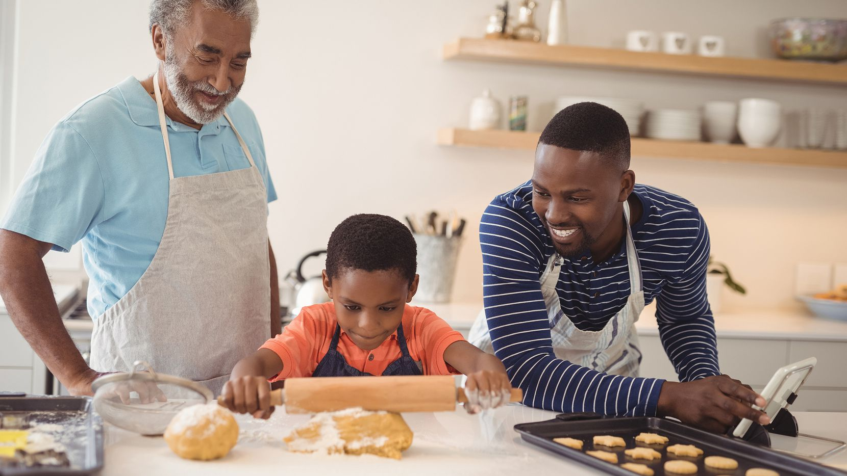 A 2018 Columbia University study said that healthy adults who live in a multigen setting live longer.