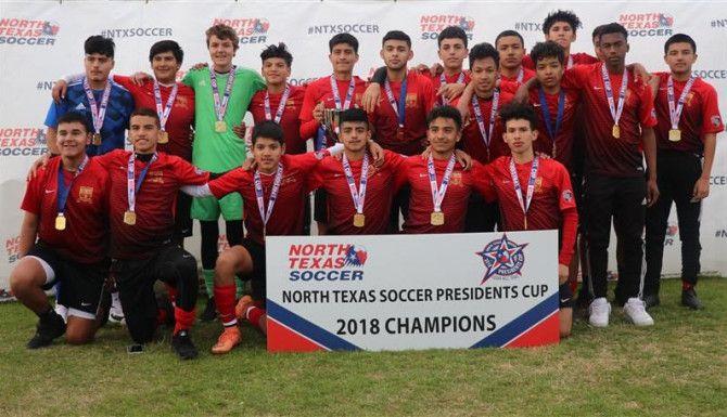 17-Under Boys Champions: OU United FC