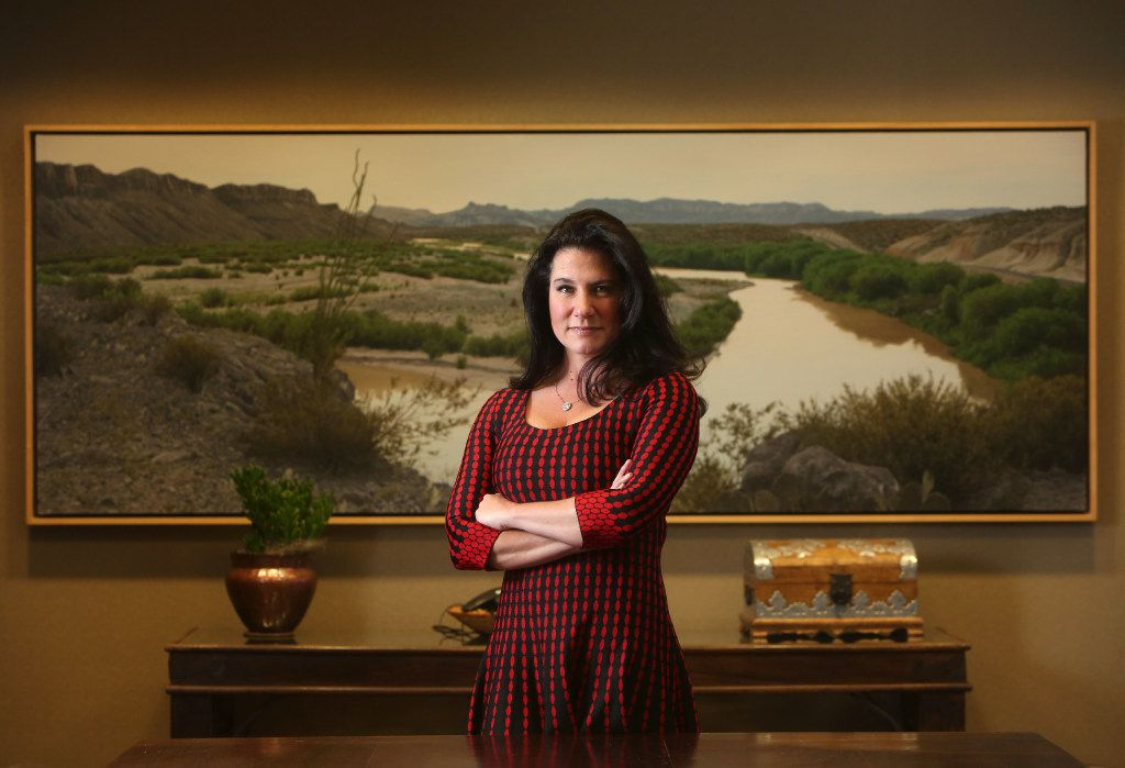 Danielle DiMartino Booth has just released her scathing account of the Federal Reserve. (Rose Baca/The Dallas Morning News)