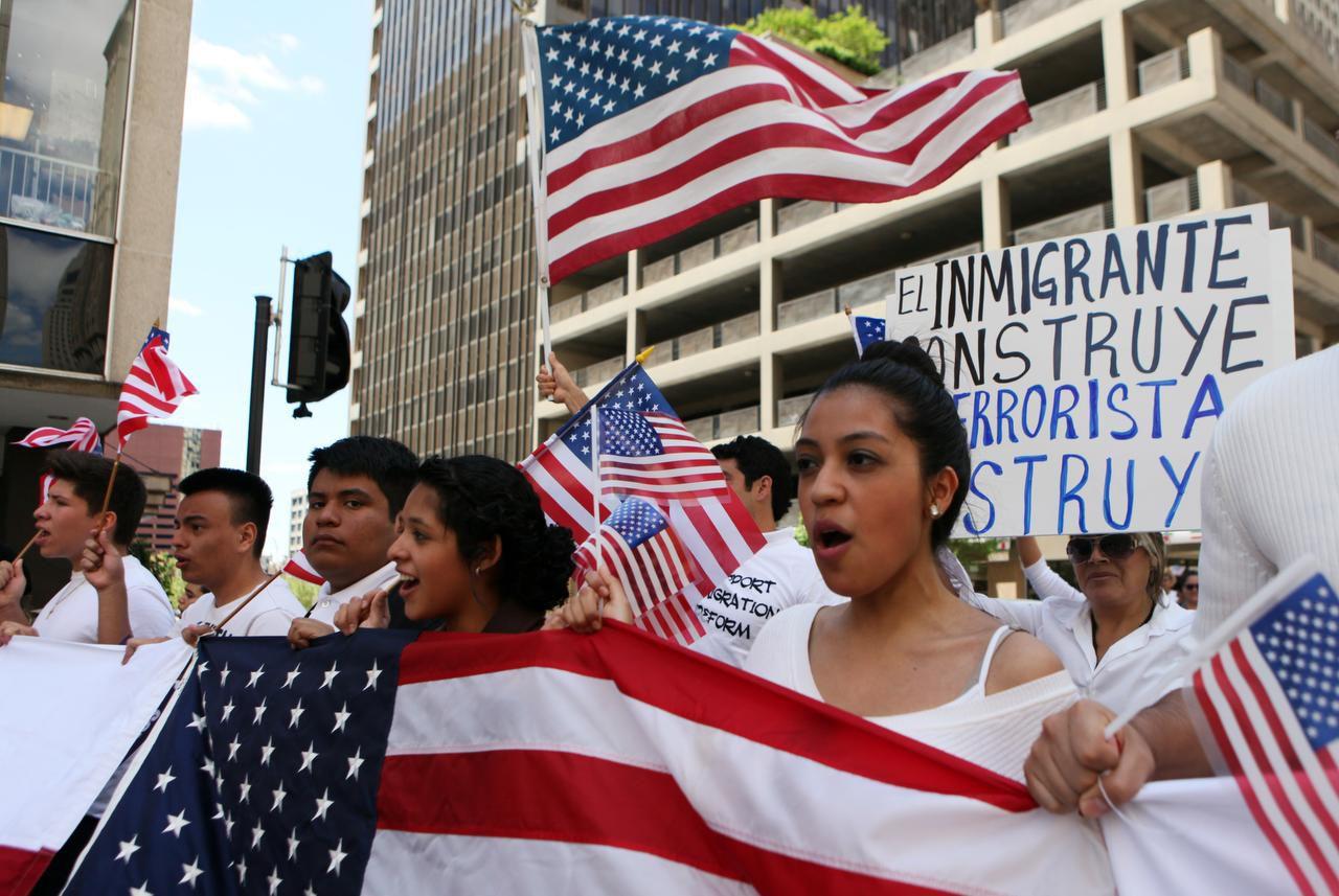 Activistas de Dallas convocaron una marcha proinmigrante en 2005. (AL DÍA/ARCHIVO)