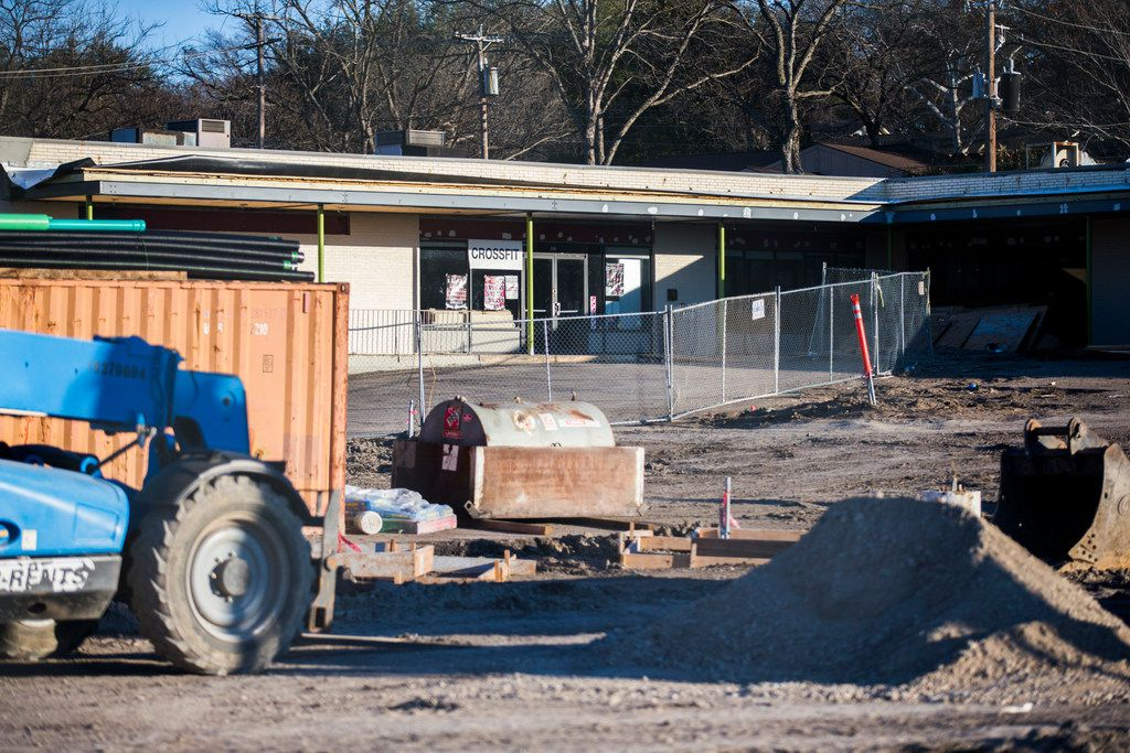 Construction on Vector Brewing, which will be at the corner of Walnut Hill Lane and Audelia Road, has been delayed because of the federal government shutdown.