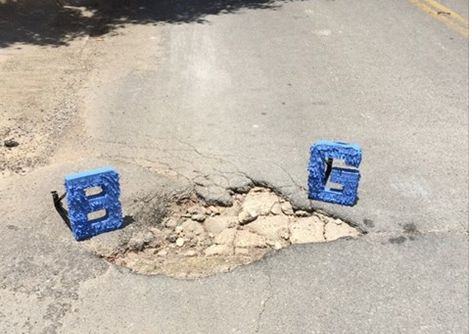 A Facebook page dedicated to Dallas potholes has been pointing out the city's street problems this year.
