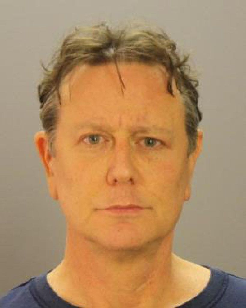 Judge Reinhold's mug shot after he was booked into the Dallas County jail on December 8, 2016.