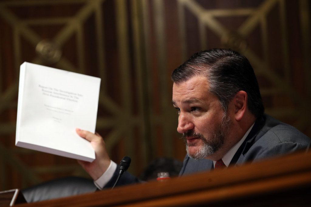 """Sen. Ted Cruz, R-Texas, said he agrees with President Donald Trump that more needs to done to secure the southern border. But he said tariffs on Mexican imports are the """"wrong solution to the crisis. """""""