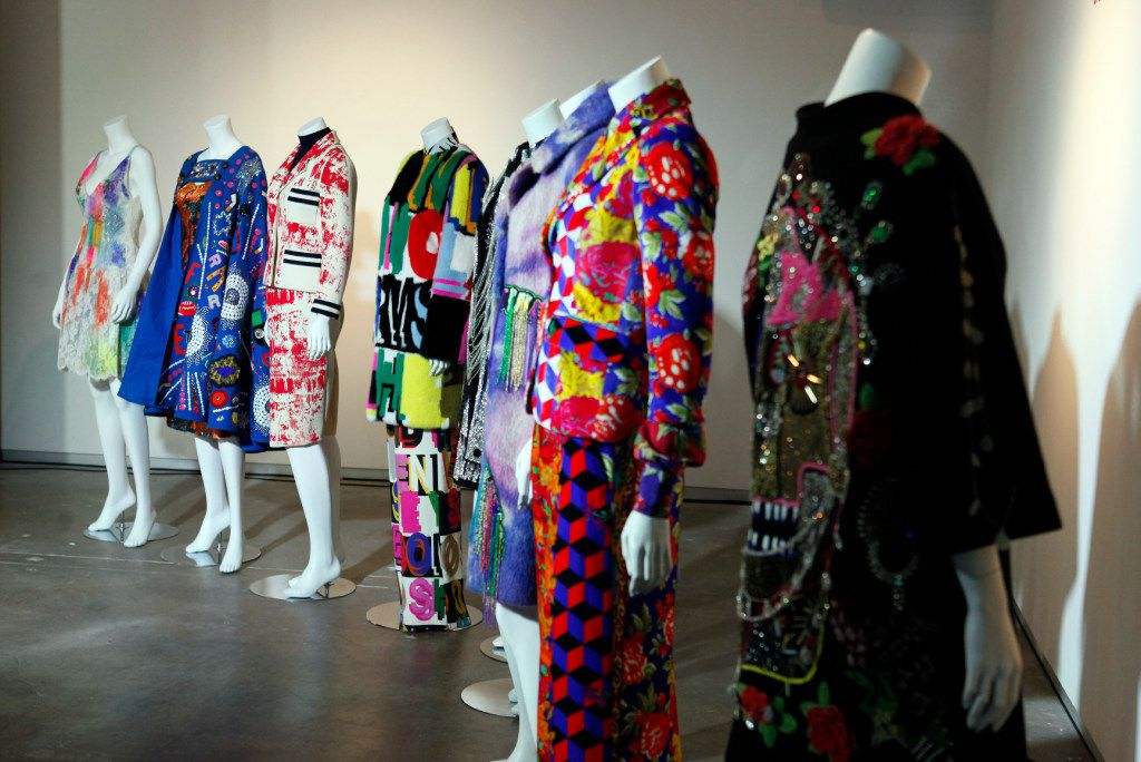 The Libertine fashion line on display by Johnson Hartig during the MTV Re:Define gala at the Dallas Contemporary, Friday evening, March 24, 2017 in Dallas. Ben Torres/Special Contributor