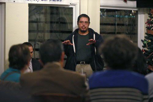 Raúl Reyes, representante de los vecinos de Los Altos.