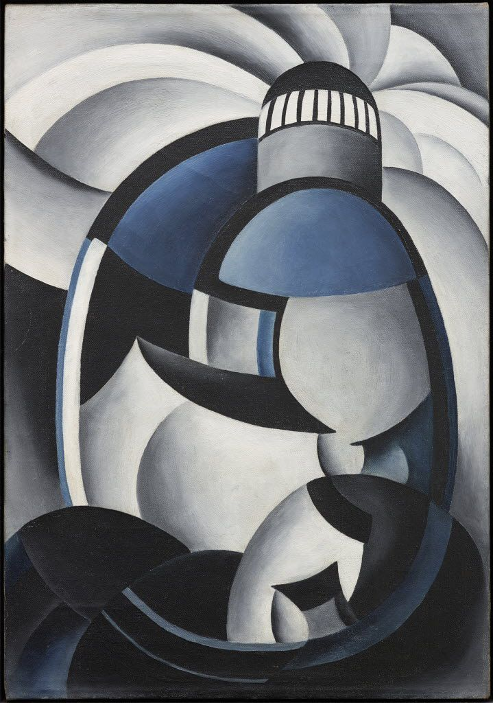 Ida O'€™Keeffe's Variation on a Lighthouse Theme (Dallas Museum of Art)
