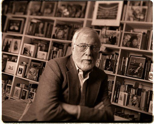 John Ardoin, photographed in his Dallas studio in 1998, the year he retired as music critic for The Dallas Morning News.