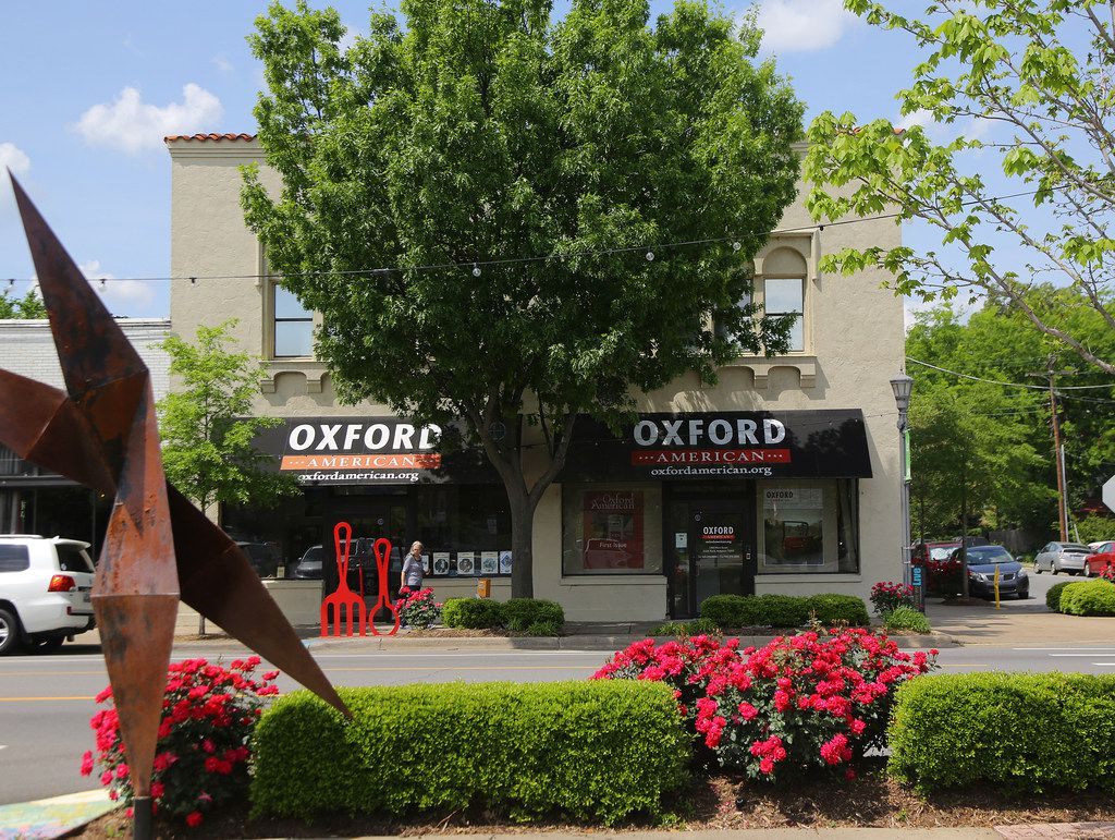 The Oxford American's offices in the SOMA district of Little Rock