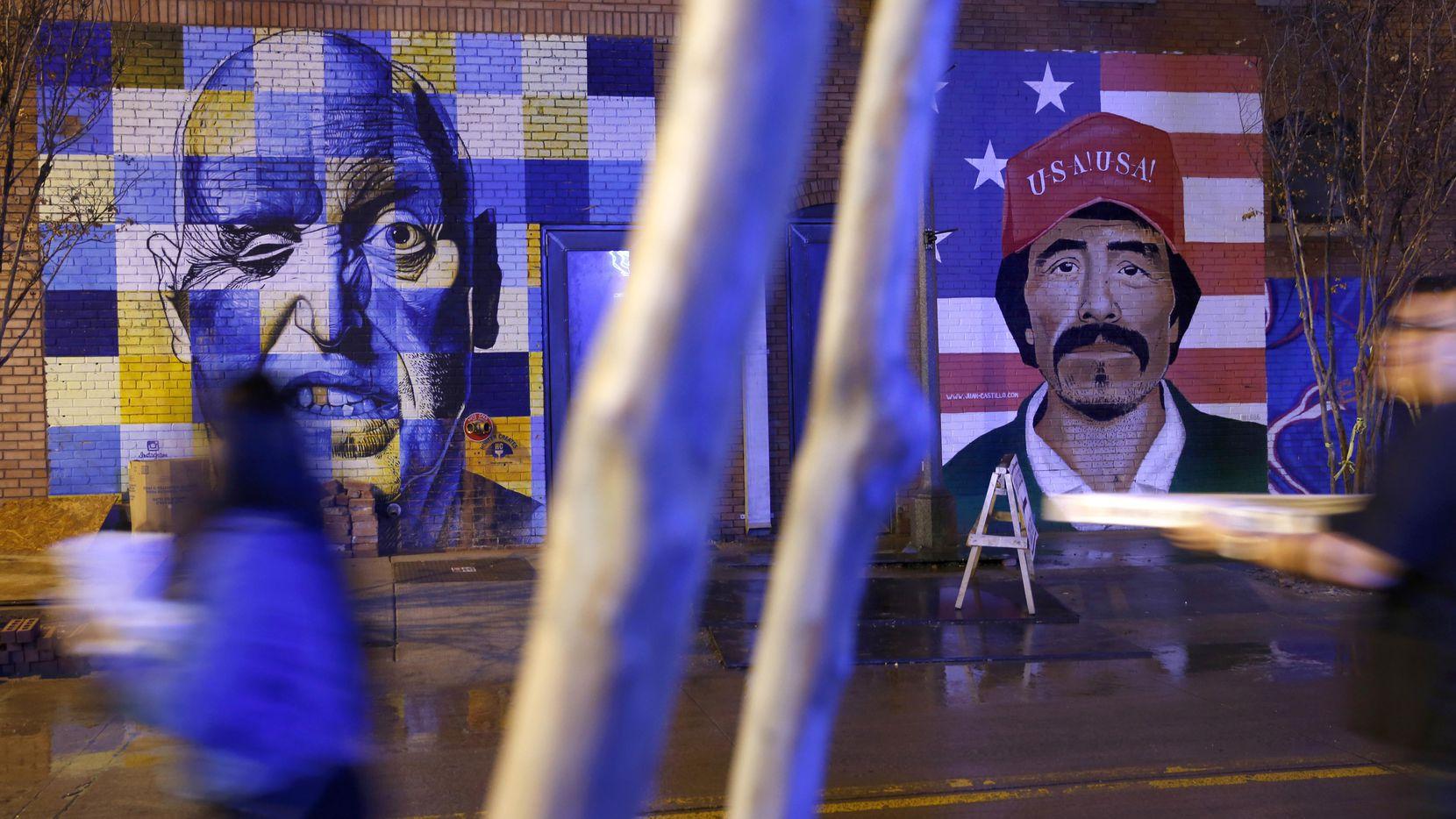 Los murales de Deep Ellum son parte de la identidad del barrio.  DMN