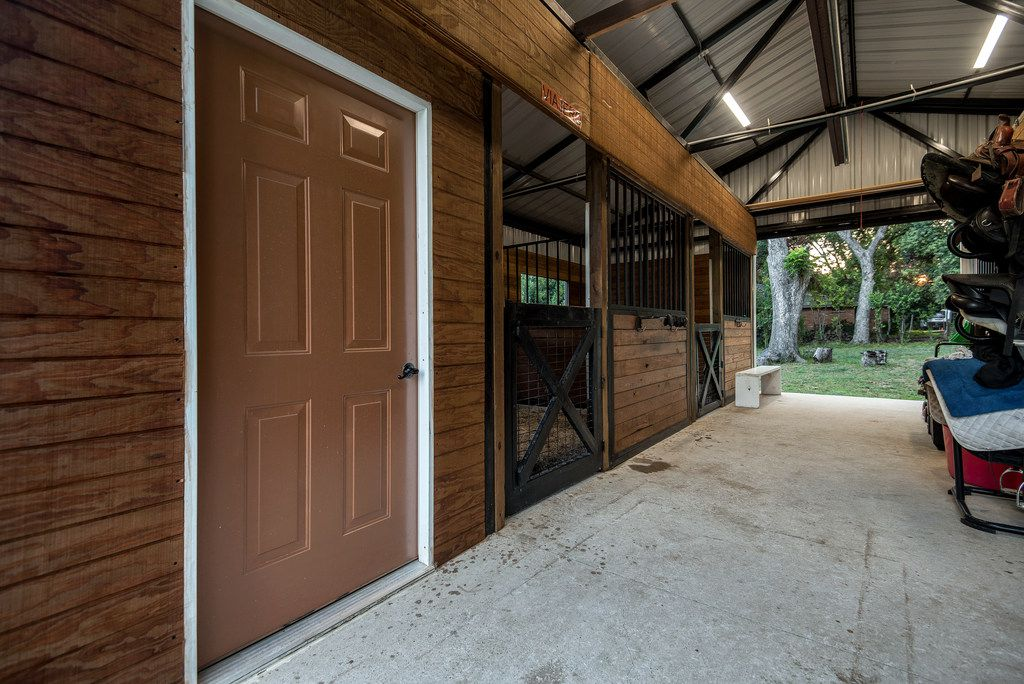 A look at the equine property at 3000 E. Parker in Plano.