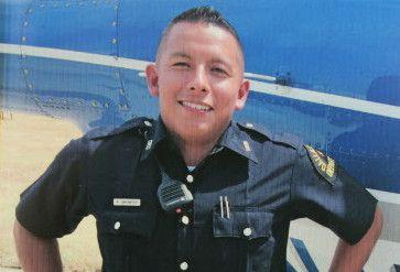 Rogelio Santander tenía 3 años como policía antes de morir abatido la semana pasada. CORTESÍA
