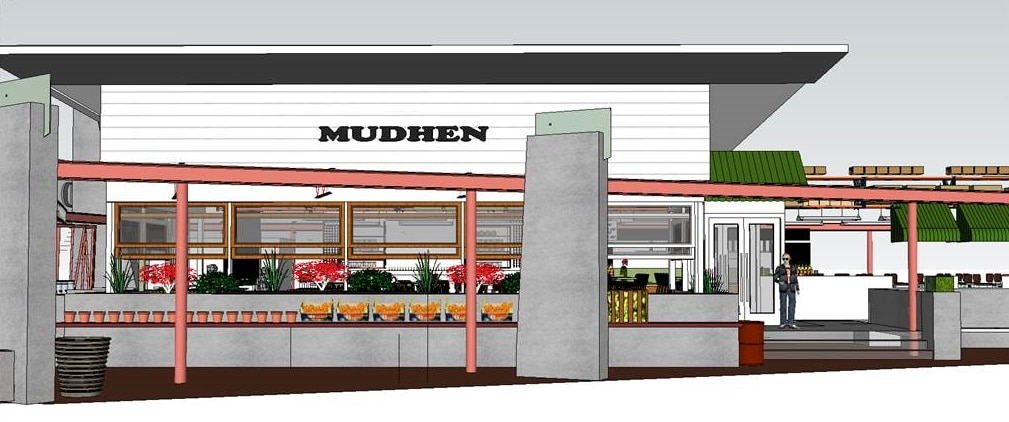 A rendering of the forthcoming Mudhen in the Dallas Farmers Market.