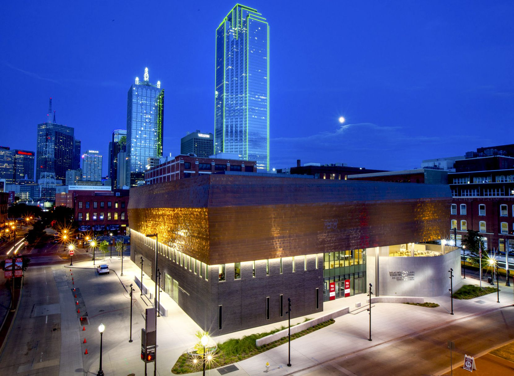 The new Dallas Holocaust and Human Rights Museum is photographed on Wednesday, Sep. 11, 2019.