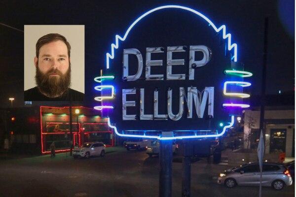 Austin Shuffield fue captado en video golpeando a una mujer en Deep Ellum. DMN