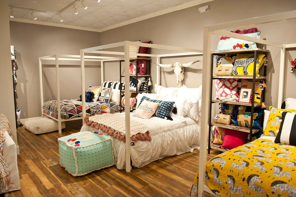 Quilts and pillows from Dallas-based textile maker Ida Mae Home, $69-$200. Preston Royal Village, 6025 Royal Lane, Dallas. idamaehome.com