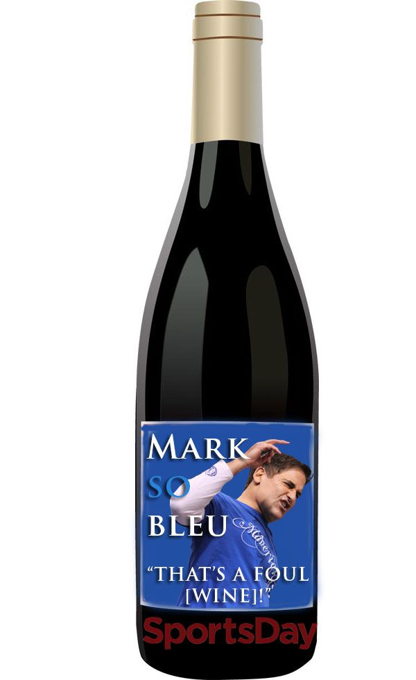 Mark So Bleu Wine
