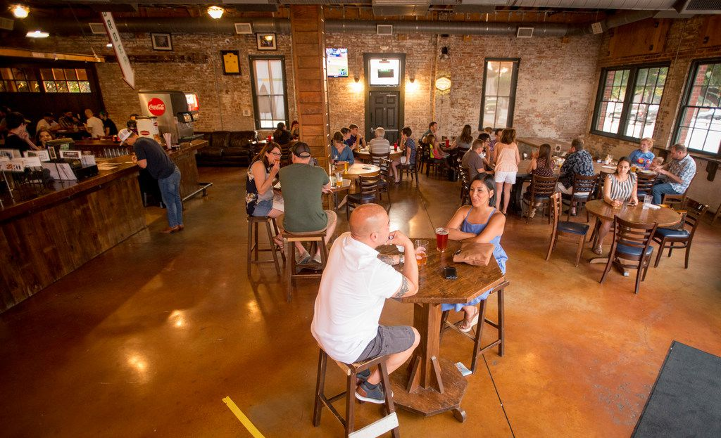 Fort Brewery and Pizza is located in the former home of Chimera Brewing Co. in Fort Worth.