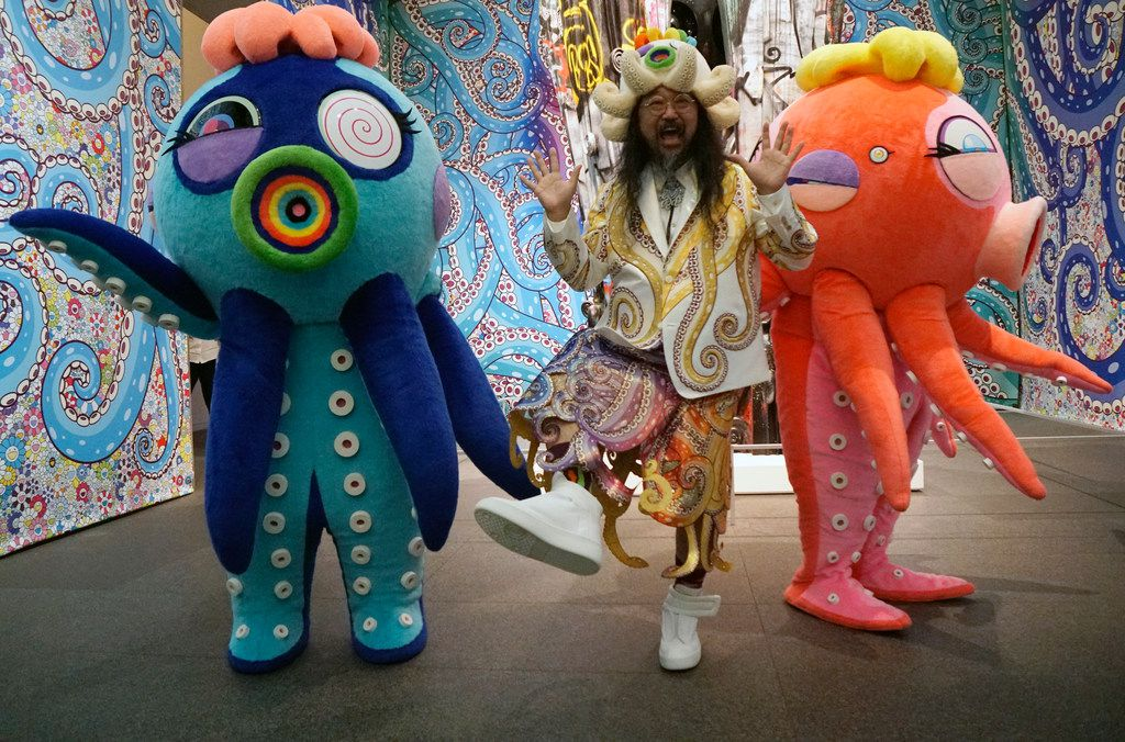 The Modern Art Museum of Fort Worth is featuring a show by Takashi Murakami through Sept. 16.