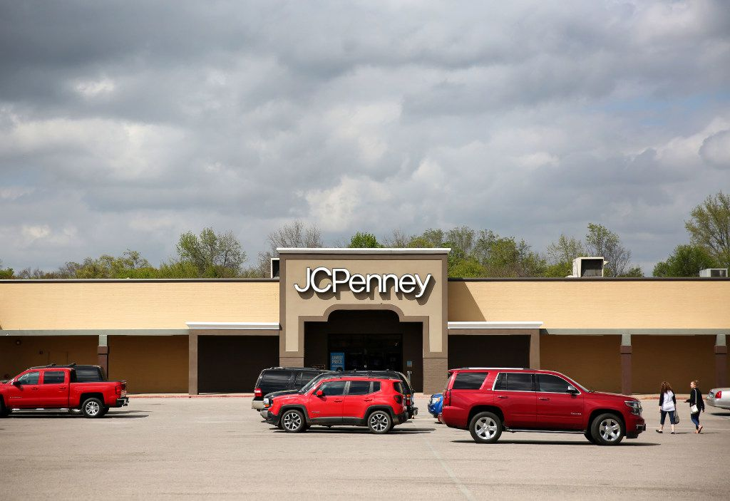 Exterior of JCPenney in Athens, Texas on Friday, March 17, 2017. (Rose Baca/The Dallas Morning News)