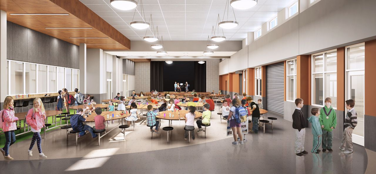 Image of HPISD's fifth elementary school set to open in August 2017