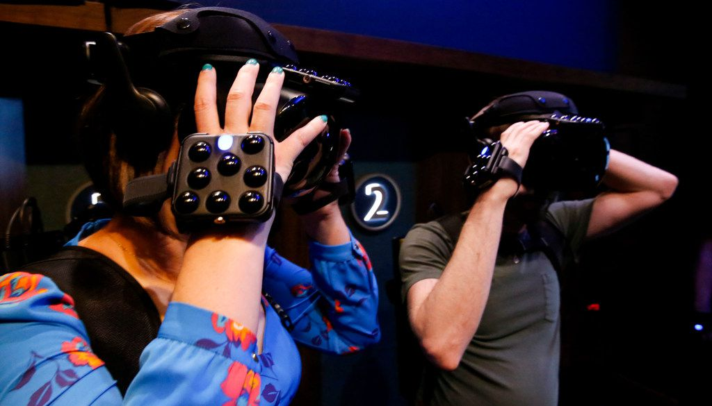 Dreamscape, a virtual reality or VR room, has opened at NorthPark Center in Dallas.