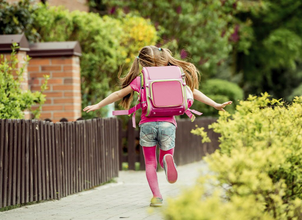 Too-heavy backpacks can give kids low back, neck and shoulder pain, as well as headaches.