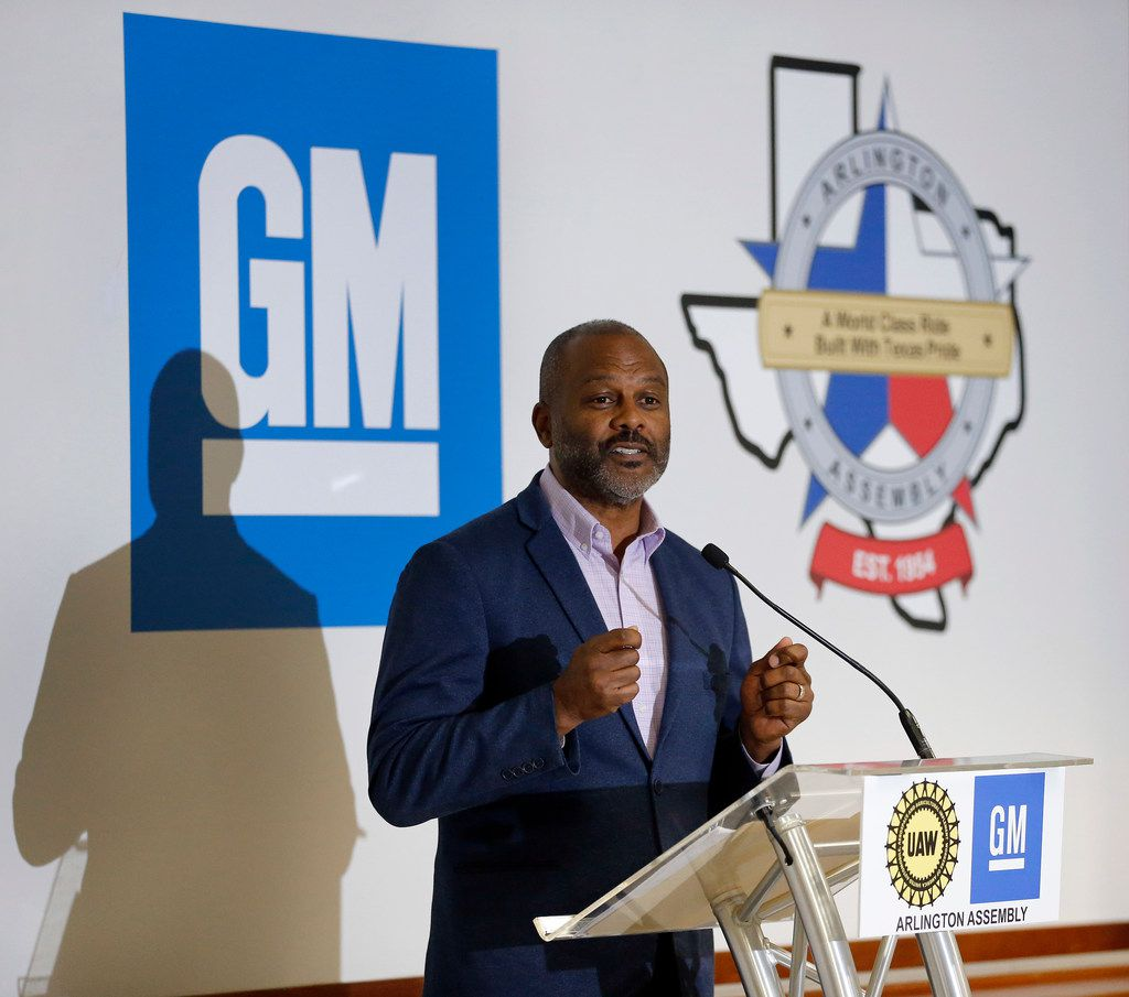 General Motors executive vice president of Global Manufacturing Gerald Johnson on Tuesday announced an additional $20 million investment ahead of GM's new, unannounced full-size SUV to be built at the General Motors Assembly Plant in Arlington. The upgrade will be to plant conveyors. GM has already invested $1.4 billion since 2015 to build a new paint shop and for body shop and general assembly areas.