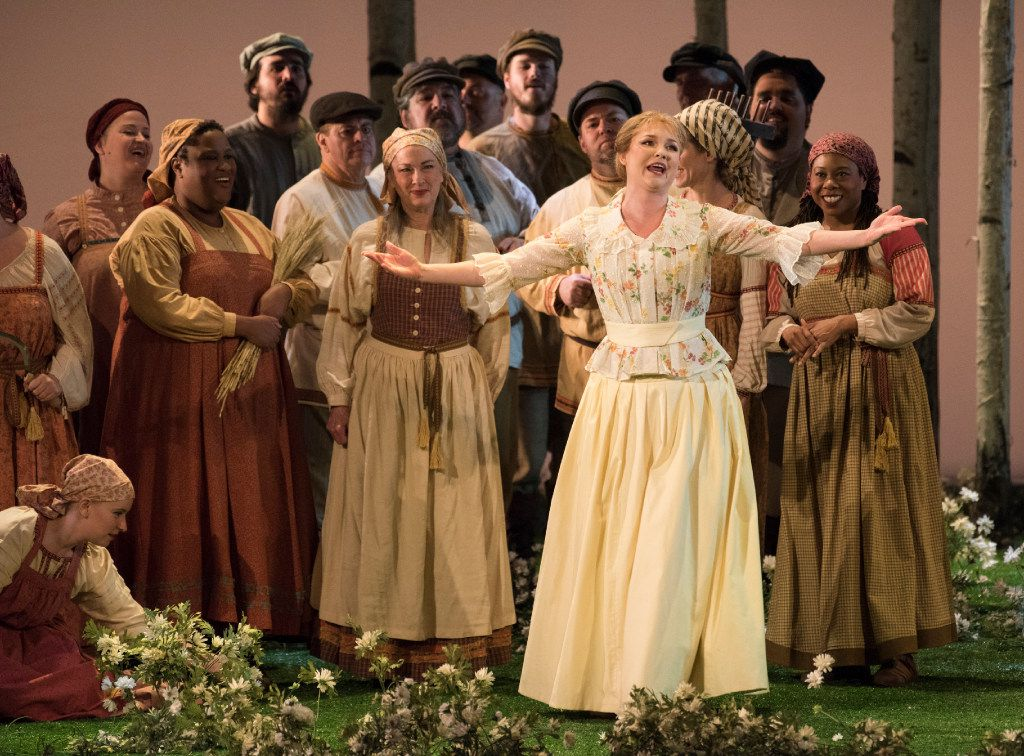 """The Dallas Opera held a dress rehearsal of Tchaikovsky's """"Eugene Onegin"""" at the Winspear Opera House on Tuesday, Oct. 25, 2016."""