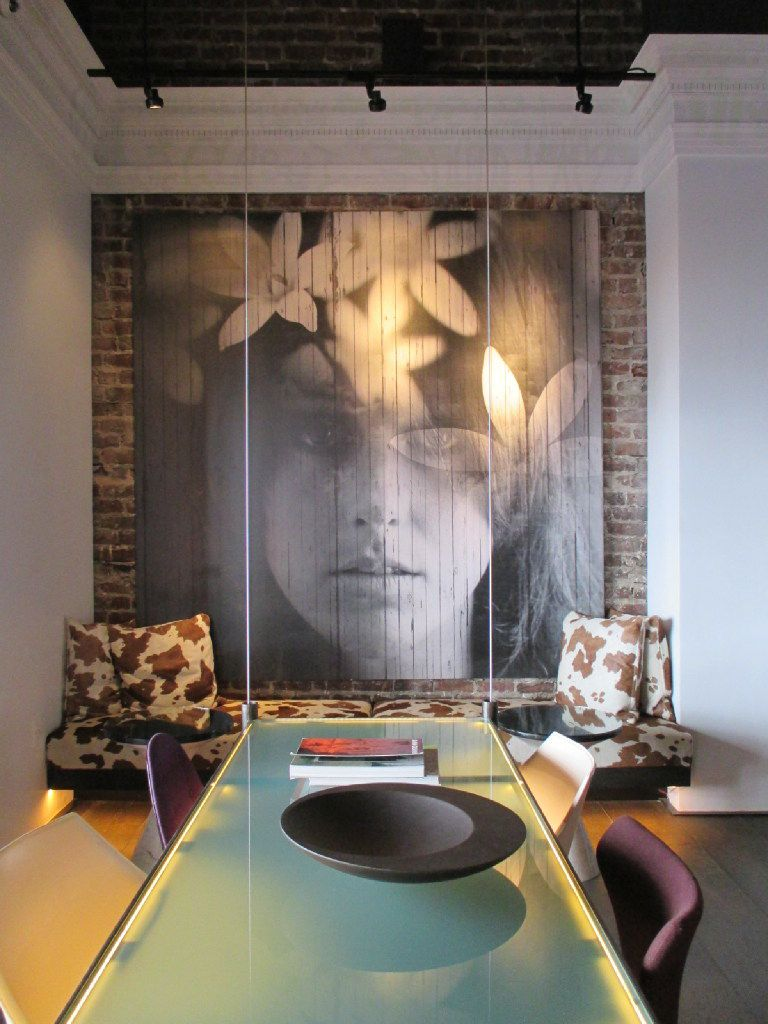 Inhabiting a San Francisco building constructed in 1913, Hotel Zeppelin preserves the flower power vibe with its trippy decor.