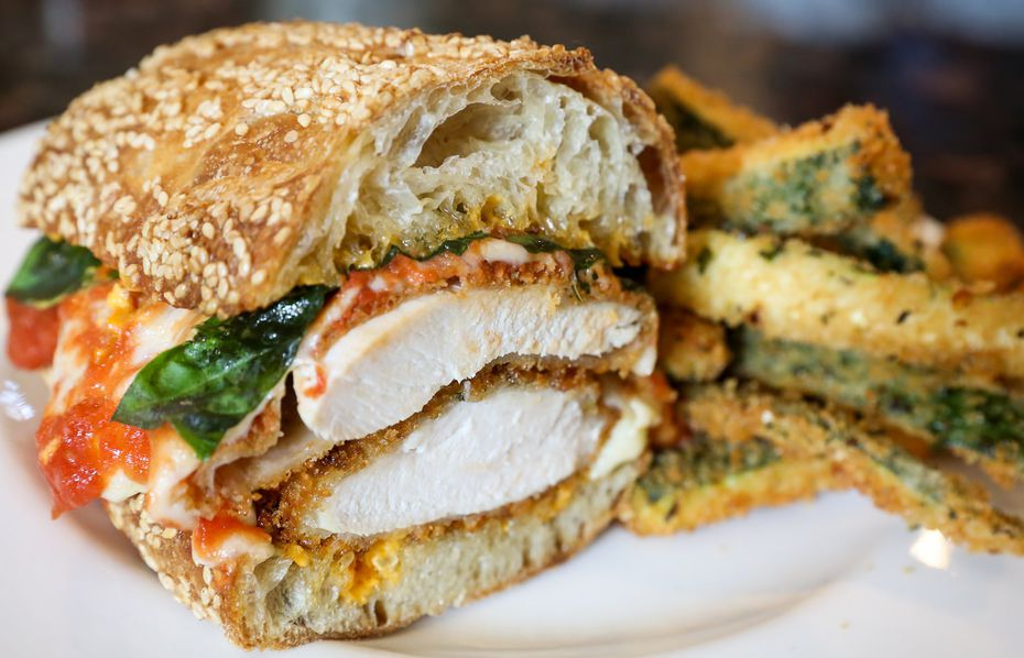 The new Zoli's will sell chicken parmesan sandwiches.
