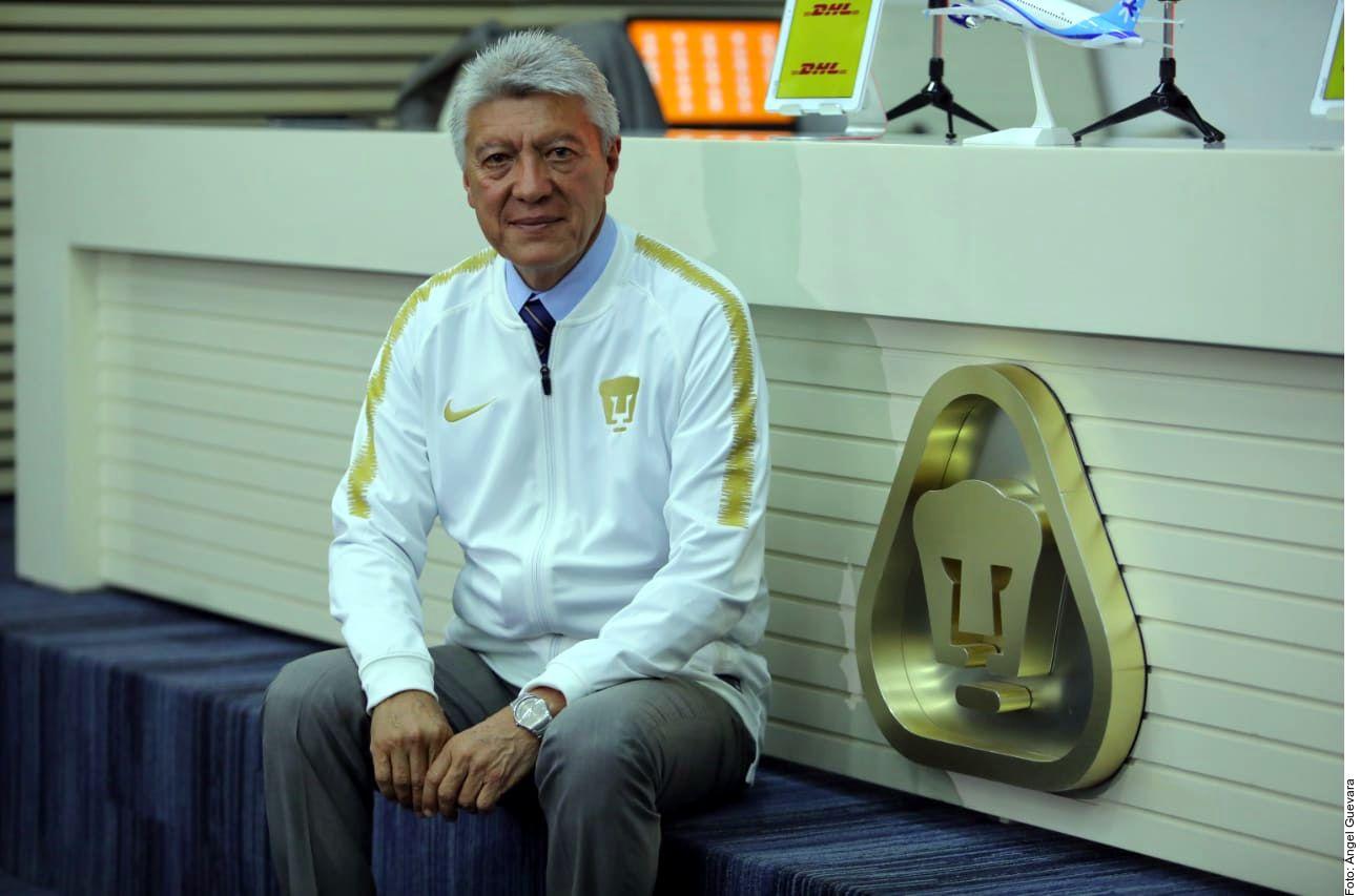 Jesús Ramírez es desde ahora el nuevo presidente deportivo de Pumas./ AGENCIA REFORMA