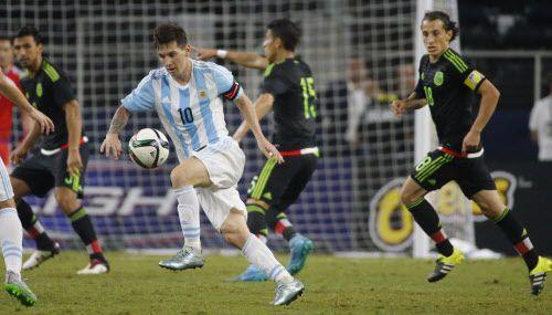 Argentina y México jugarían amistoso de Fecha Fifa en Buenos Aires en noviembre, según reportes de la prensa mexicana. (Louis DeLuca/The Dallas Morning News)