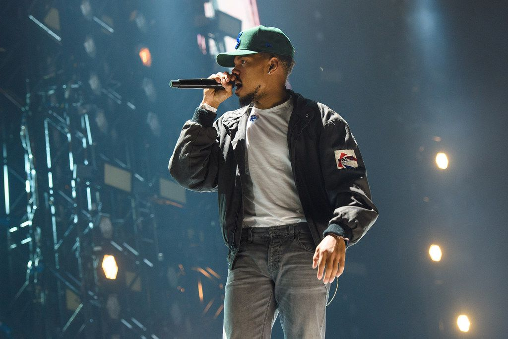Chance the Rapper is a hip-hop performer from Chicago.