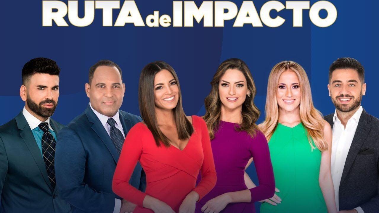 Jomari Goyso, Tony Dandrades, Pamela Silva Conde, Michelle Galvan, Jackie Guerrido y Borja Voces estarán en la gira de Primer Impacto que llega esta semana al Norte de Texas.