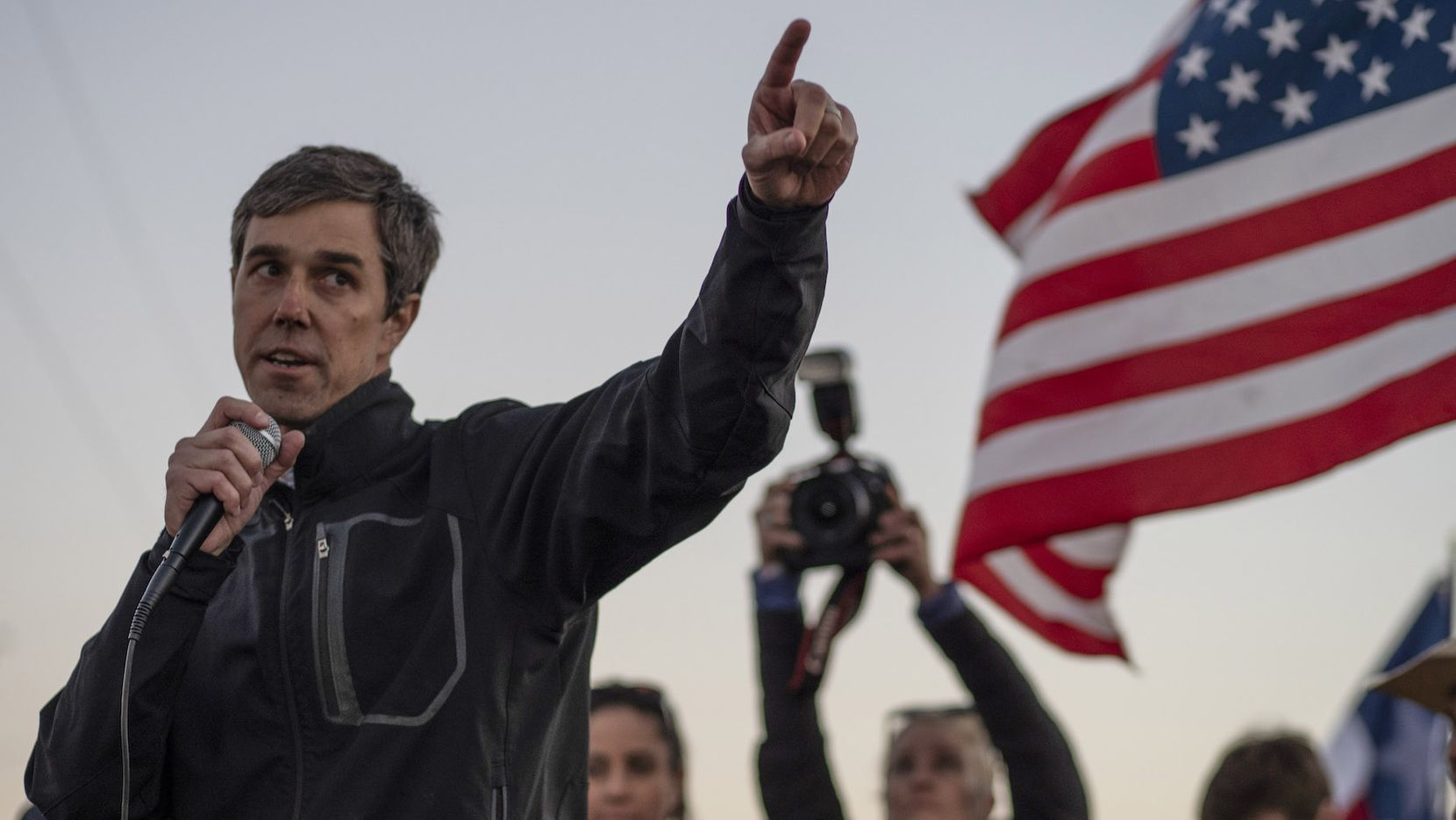 El ex congresista Beto O'Rourke de El Paso. (PAUL RATJE/AFP/Getty Images)