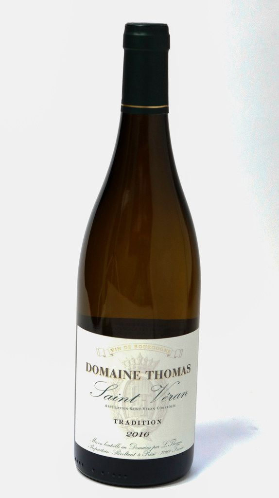 "Domaine Thomas Saint-Veran ""Tradition"" 2016, France"
