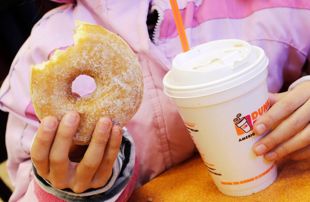 Go to Dunkin' donut shop in Lake Highlands, Arlington or DeSoto to snag a free cup of coffee Jan. 15 through Jan. 31, 2019.
