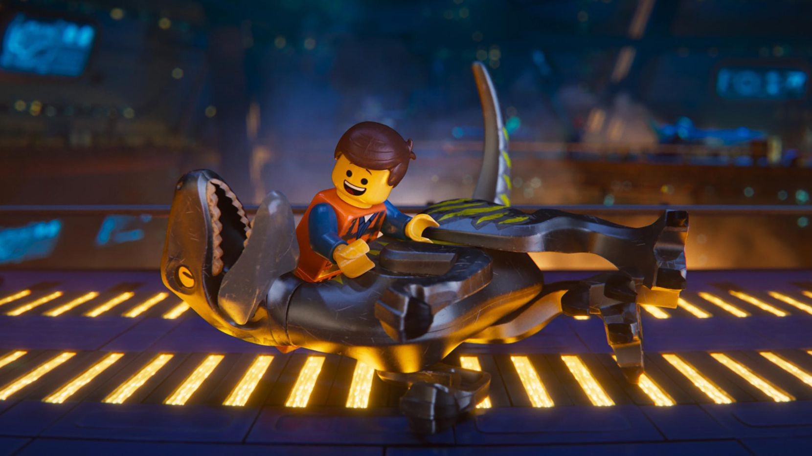 "Emmet, con voz de Chris Pratt, en una escena de ""The Lego Movie 2: The Second Part"". (Warner Bros. Pictures)"