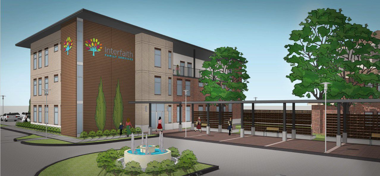 Interfaith Family Services breaks ground Thursday on an $11.4 million expansion that will enable it to help 200 more poor families raise their living standards.