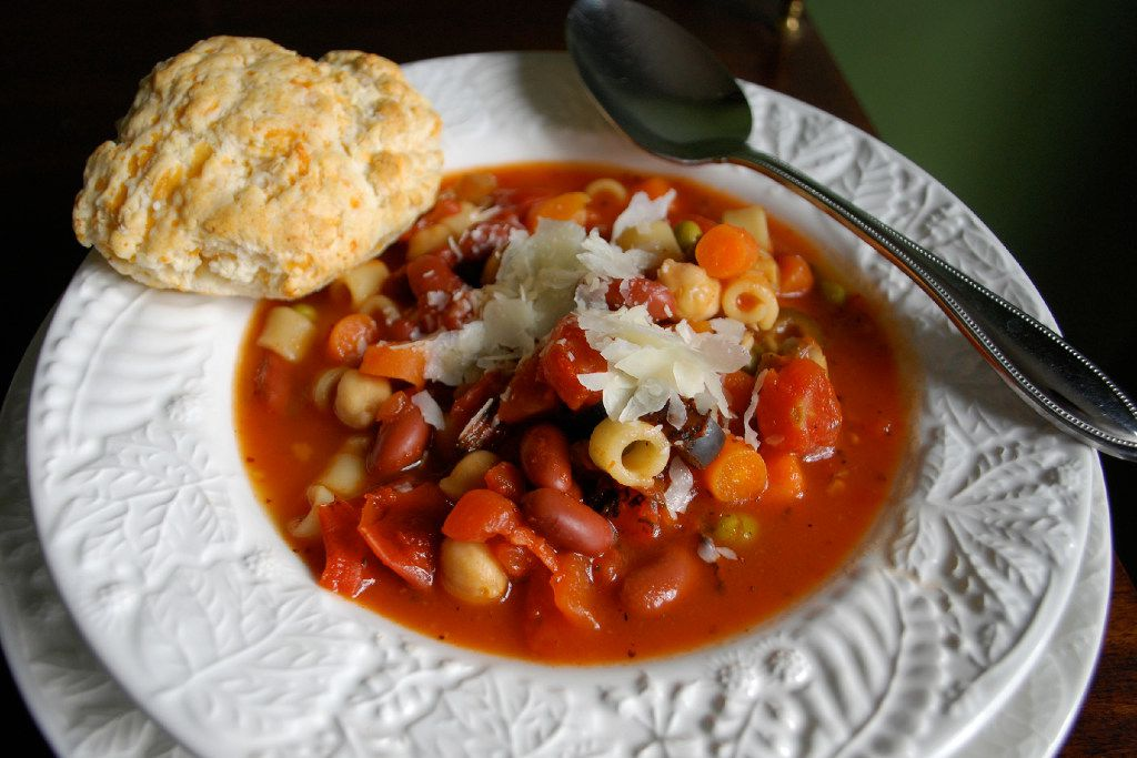 Mainstay Minestrone for Kitchen Scoop