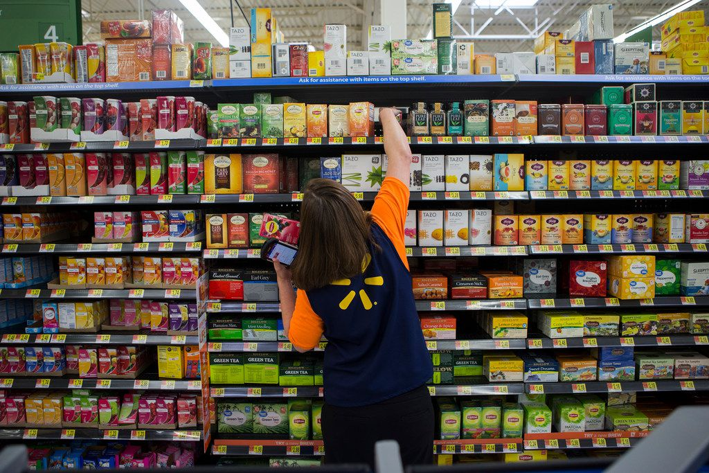 Walmart using its store muscle to expand online grocery