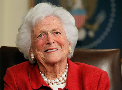 Barbara Bush, matriarca del clan político de los Bush, falleció el martes a los 92 años. Getty Images