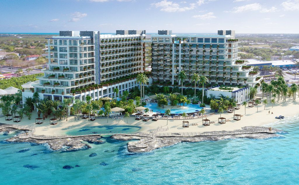 Plano-based Aimbridge Hospitality was chosen to manage a 351-room Grand Hyatt Grand Cayman Hotel & Residences that's being built in Grand Cayman.