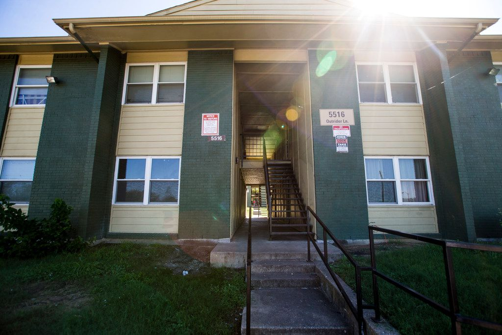 The Ridgecrest Terrace Apartments, sued for the second time in a decade by the city of Dallas
