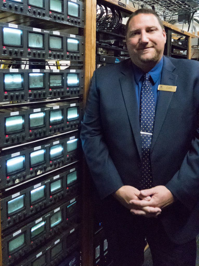 Frank Kunovic directs the race and sports book action — and millions of dollars in technology — at Caesars Palace in Vegas